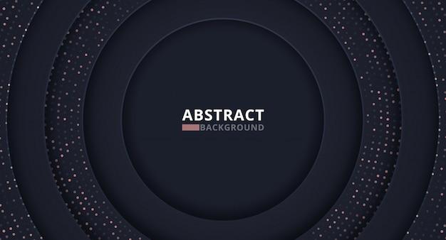 Hintergrund mit schwarzen radialen formen