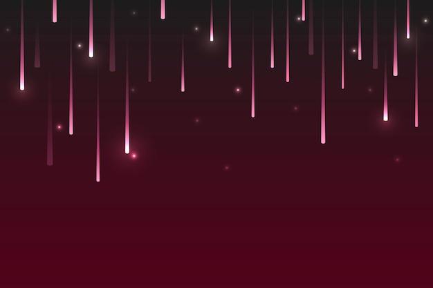 Hintergrund mit sternschnuppenmuster