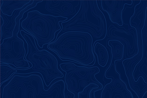 Hintergrund mit topografischem kartenkonzept