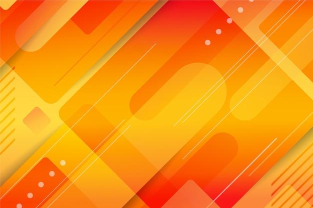 Hintergrund mit überlappenden formen