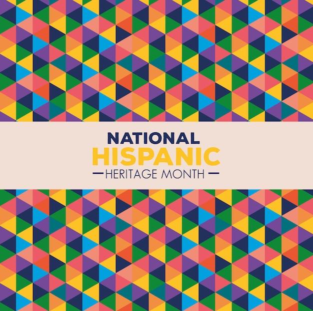 Hintergrund, monat des nationalen hispanischen erbes im september und oktober, hispanische und lateinamerikanische kultur