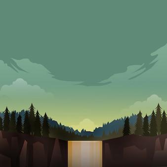 Hintergrund natur