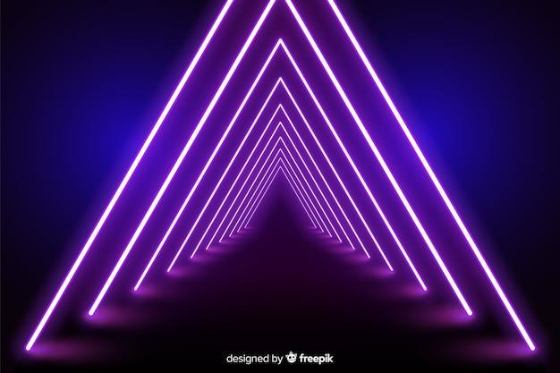 Hintergrund neonlicht bühne