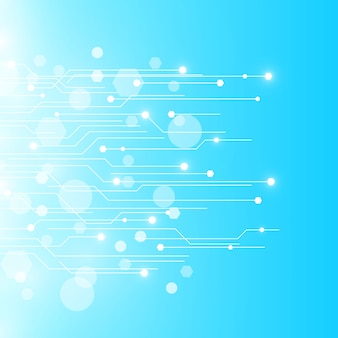 Hintergrund platine technologie