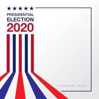 Hintergrund präsidentschaftswahl 2020