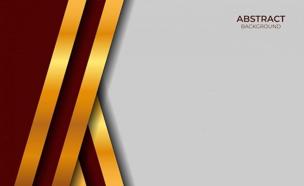 Hintergrund rot und gold luxus design