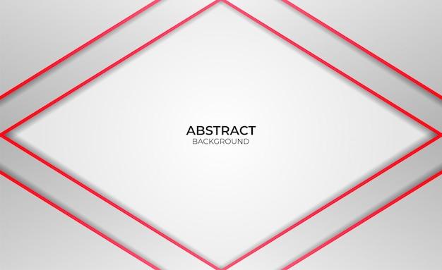 Hintergrund rotes und weißes abstraktes design