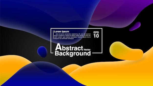 Hintergrund vom flüssigen form-zusammensetzungs-konzept. lava lamp modern background abstract.