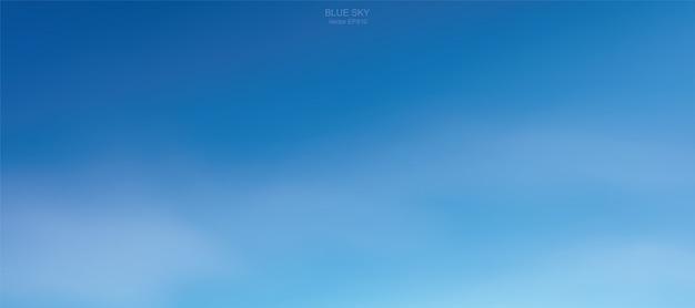 Hintergrund von weichen weißen wolken gegen blauen himmel.
