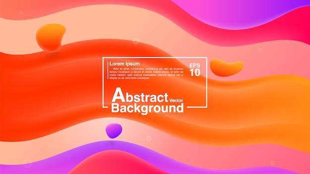 Hintergrund-zusammenfassung vom flüssigen form-zusammensetzungs-konzept. lava lamp modern background abstract.