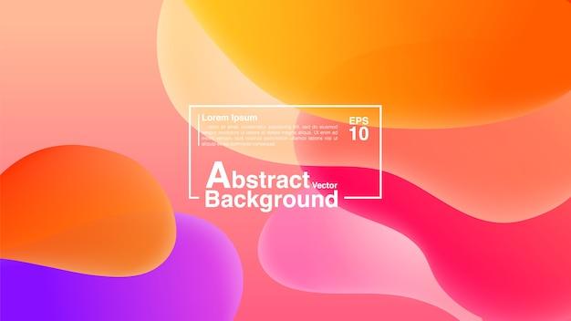 Hintergrund-zusammenfassung von der flüssigen form-zusammensetzung. lava lamp modern background abstract.