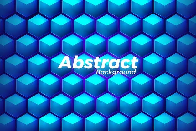 Hintergrunddesign der technologie 3d