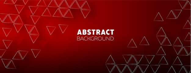 Hintergrunddesign mit geometrischen formen und elementen