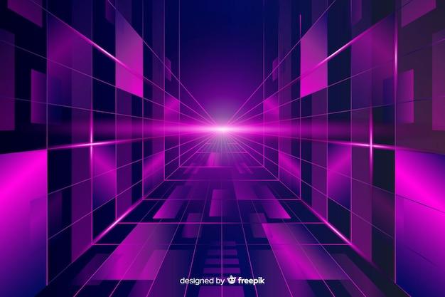Hintergrundhorizont futuristisch
