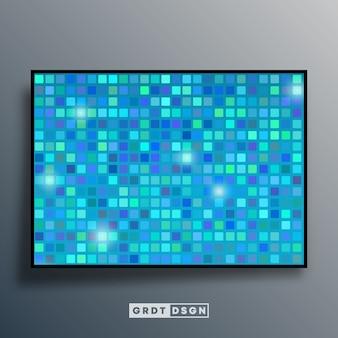Hintergrundschablone mit mosaikverlaufsbeschaffenheit