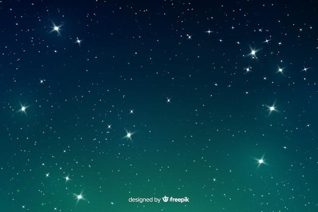 Hintergrundsteigung der steigung sternenklare nacht