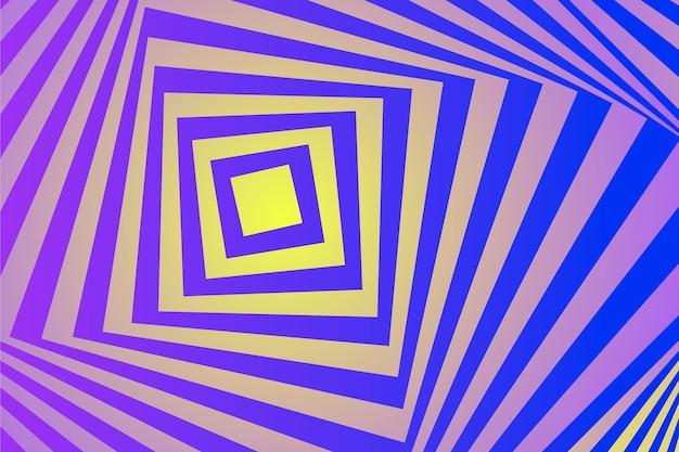 Hintergrundthema der psychedelischen optischen täuschung
