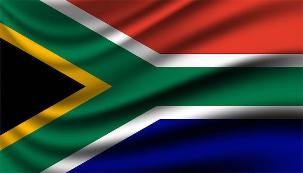 Hintergrundvorlage der flagge von südafrika.