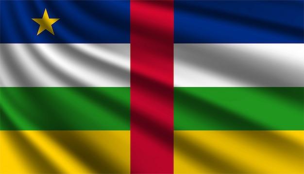 Hintergrundvorlage der flagge von zentralafrika.