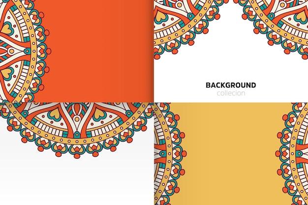 Hintergrundvorlage im ethnischen stil