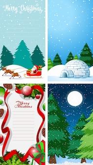 Hintergrundvorlagen mit weihnachtsmotiv
