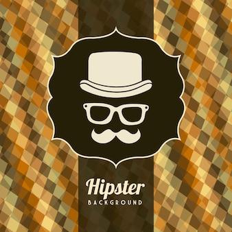 Hippie-abbildung über retro- artvektor des alten stils