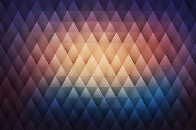 Hippie-geometrischer abstrakter hintergrund
