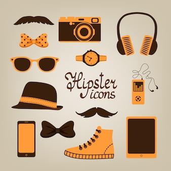 Hipster-artikel-auflistung