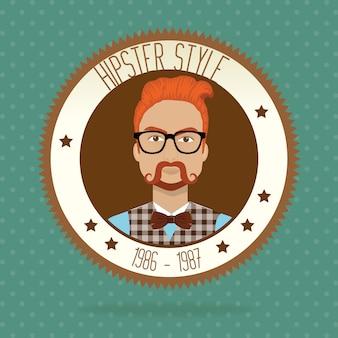 Hipster lifestyle und mode accessoires