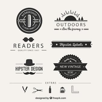 Hipster-logos