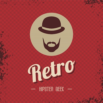 Hipster retro-aussenseiter