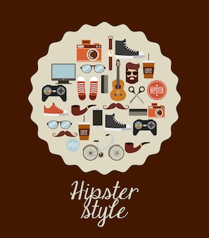Hipster-stil-design