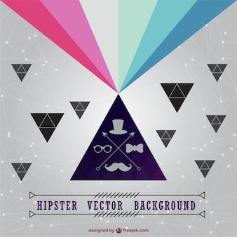 Hipster-vektor-hintergrund