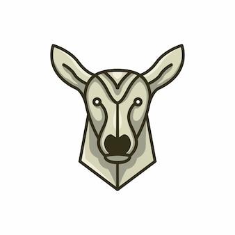 Hirsch-logo-vorlage