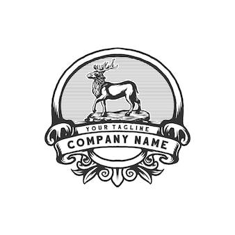 Hirsche vintage logo