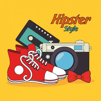 Hispter lifestyle und mode