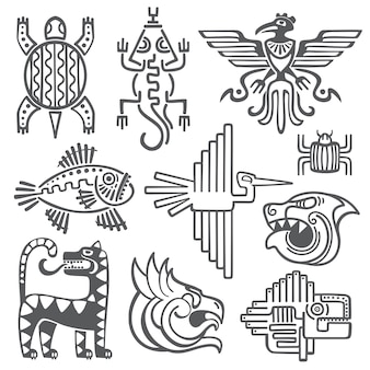 Historischer azteke