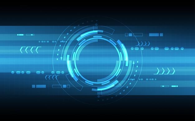Hochgeschwindigkeitskommunikationskonzept des abstrakten technologiehintergrunds