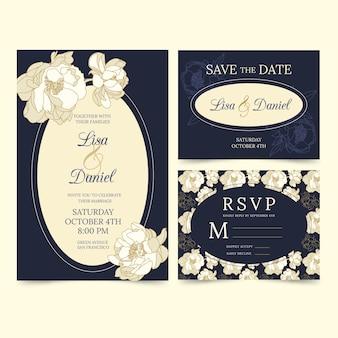 Hochzeit briefpapier vorlage thema
