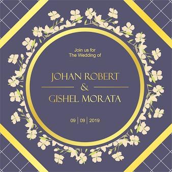 Hochzeit einladung kartenvorlage