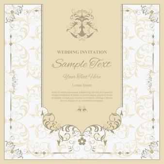 Hochzeit einladungskarte vorlage.