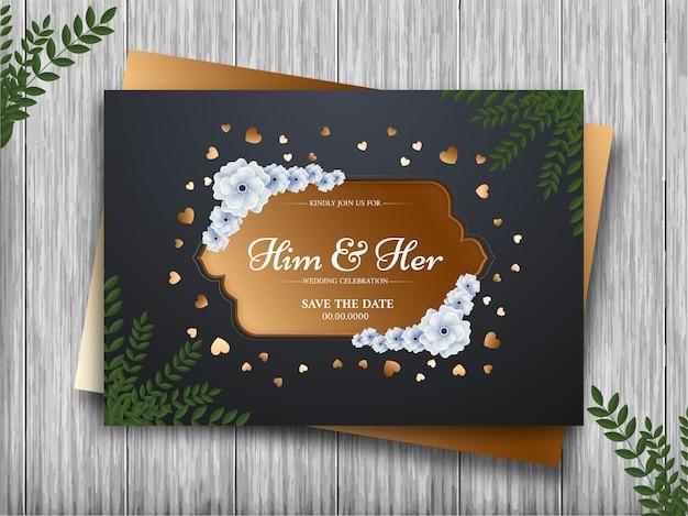 Hochzeit einladungskarte