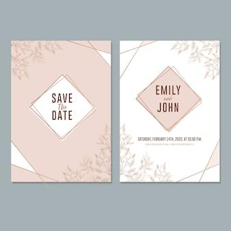 Hochzeit einladungsvorlage