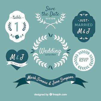 Hochzeit elemets mit eleganten stil