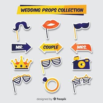 Hochzeit foto stand requisiten-sammlung