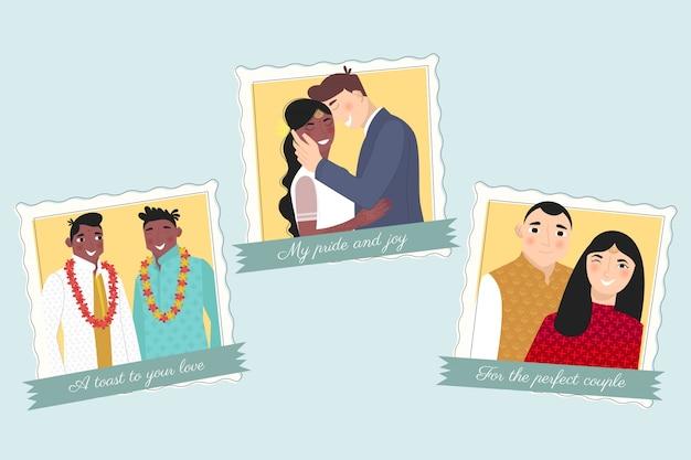 Hochzeit für die perfekten paare