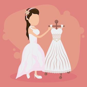 Hochzeit gerade verheiratete karte