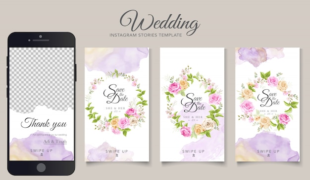 Hochzeit instagram geschichten vorlage