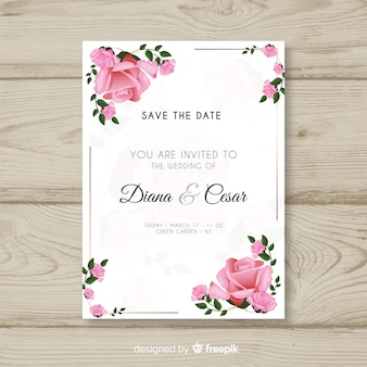 Hochzeit kartenvorlage