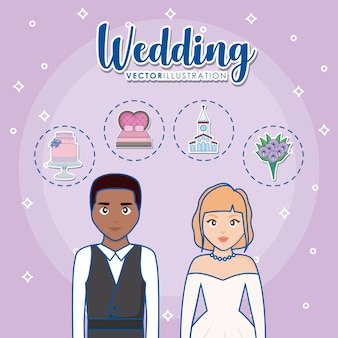 Hochzeit Konzeptdesign